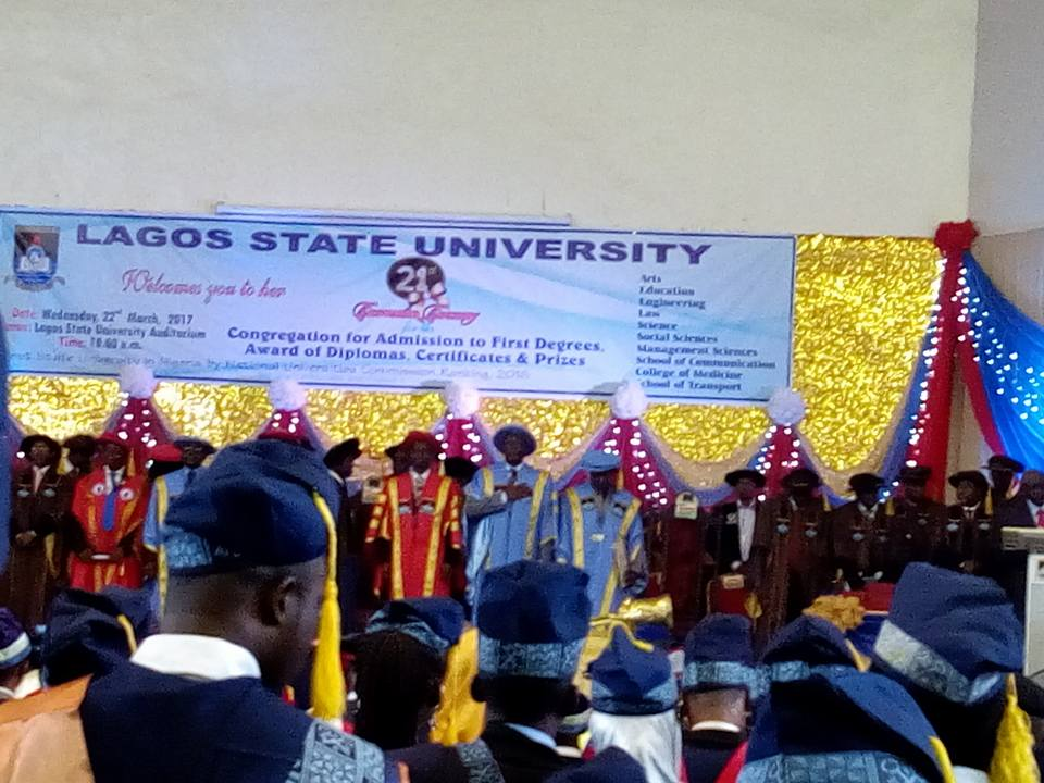 LASU 2017 Convocation Ceremony